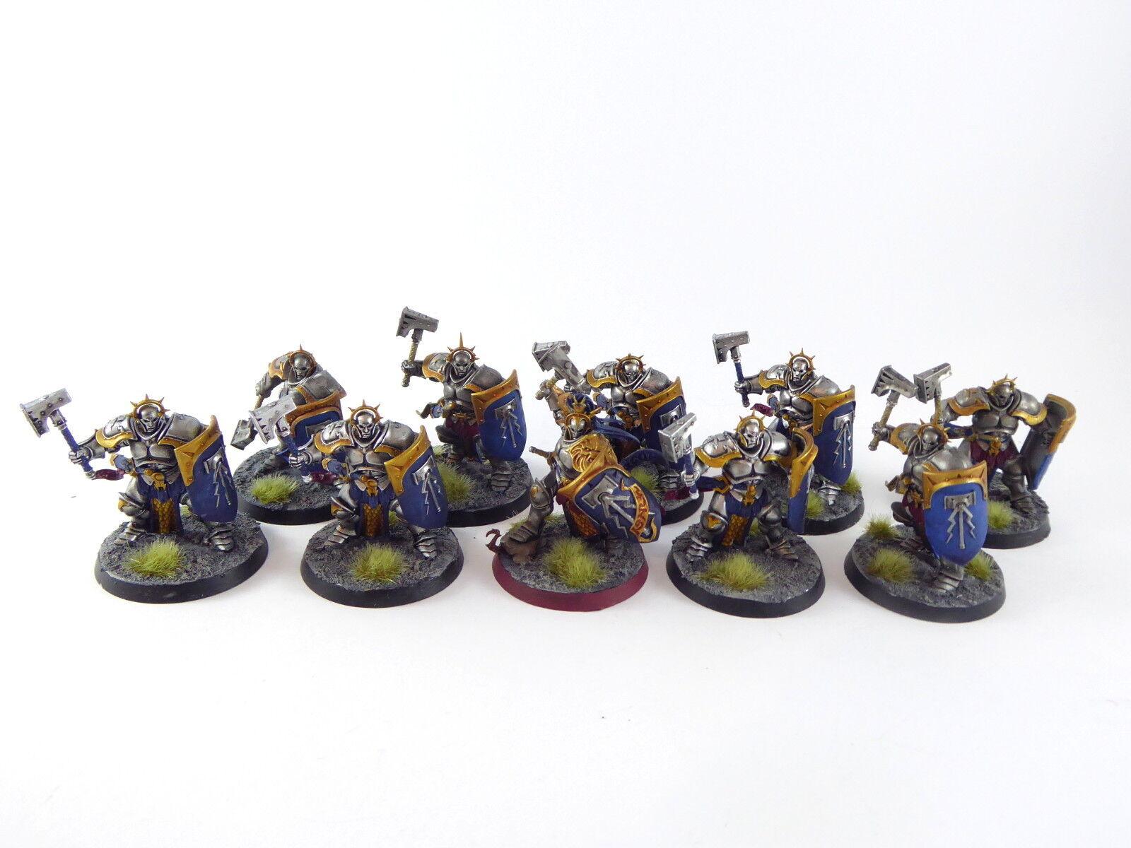 10  x dei Liberators stormcast Eternals Warhammer fantasyc-DIPINTO bene -  vendita scontata online di factory outlet