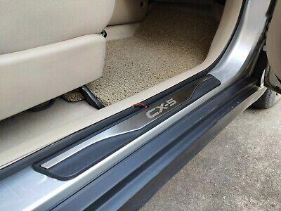 Pegatinas Tiras Proteccion Accesorios BTSDLXX 4Pcs Coche Acero Inoxidable Externo Barra Umbral Puerta para Mazda Cx 5 Cx5 2013-2016 Bienvenido Patada Pedal Door Sill Desgaste