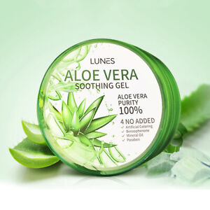 ALOE-VERA-SOOTHING-amp-MOISTURE-GEL-100-PURE-300ml-MOISTURIZER-Made-in-Korea