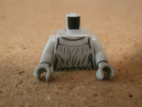 LEGO Minifig Doctor Who Weeping Angel Gris Grey Torso Neuf