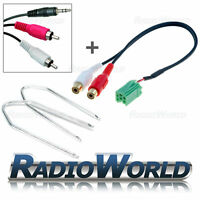 Renault Clio Update List Aux-IN Adaptor iPod/MP3/AUX to 3.5mm Jack Plug Kit