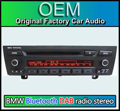 BMW Professional CD player, 3 Series Bluetooth radio BMW E90 E91 E92 E93  AUX DAB   eBay