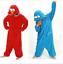 Sesamstrasse-Kruemelmonster-Elmo-Cosplay-Kostuem-Tier-Karneval-Jumpsuit-Nachtwaesche Indexbild 1