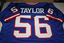 NEW YORK GIANTS #56 LAWRENCE TAYLOR CUSTOM JERSEY HOF 1999 SIZE XXL