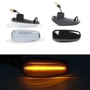 2-x-LED-cote-indicateur-repetiteur-pour-MERCEDES-SPRINTER-VITO-VARIO-W124-W210-V