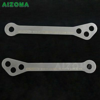 Motorcycle Adjustable 5mm Lowering Drop Links Kit Fit TRIUMPH TIGER 800//XC 11-13