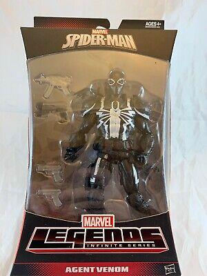 Marvel Legends Spider-Man Infinite Series Agent Venom Figure Walgreens Exclusive