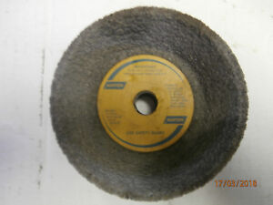 NORTON-CUP-GRINDING-WHEEL-4-3-X-1-1-2-X-1-2-32A36-18VBE-ME-19237-NEW-MAX-RPM5255