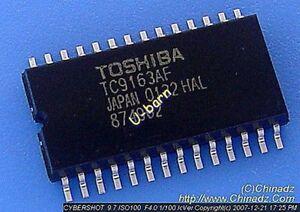 1pcs TC9163AF TC9163 9163AF New Original Toshiba SOP28