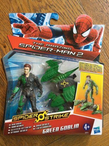 Amazing Spider-Man 2 Spider Strike 3.75 inch Figure Air Raid Green Goblin New!