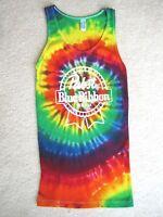 Pabst Blue Ribbon Beer Tie Dye Tee T-shirt Tank Top Medium M Fun & Cool