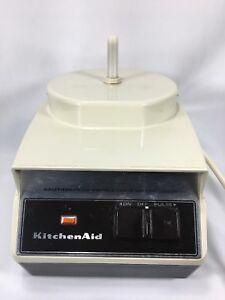Vintage Hobart Kitchenaid Kfp 700 Base Non Working 1970 S Era Food