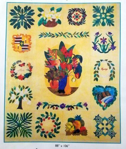 Hawaiian Applique Quilt Patterns by Pacific Rim Quilt Company 10 Designs