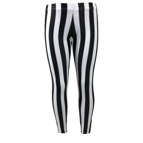 Black and White Stripe NEW  Starlite Calaboose Leggings