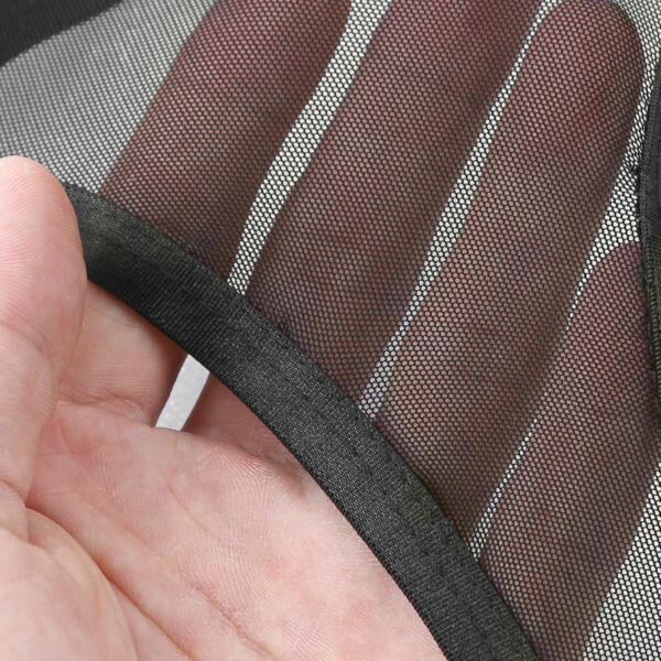 Damen Transparent Ouvertslip Strings Tanga Unterwäsche mit Strumpfhalter Dessous