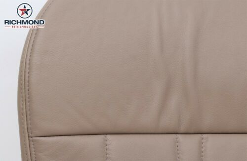 1998 Ford F-150 Lariat Driver Side Bottom Replacement Leather Seat Cover TAN