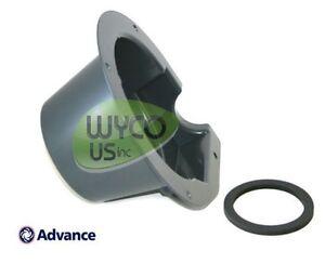 Vacuum motor shroud w gasket advance warrior 28d convertamatic 24d c 34 rst d Advance motor