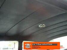 1956 1957 Chevy 2 Door Sedan Black Vinyl Headliner USA Made Belair 150 210