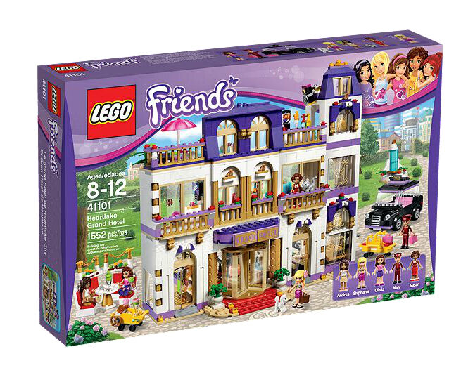 LEGO Friends  Heartlake Grand Hotel - 41101 [Building [Building [Building Toys, Kids, 1552 Pcs] NEW 6e70da