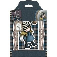 New Simply Gorjuss Urban Rubber Stamps TWEED FRIENDLY HEDGEHOG SET free US ship