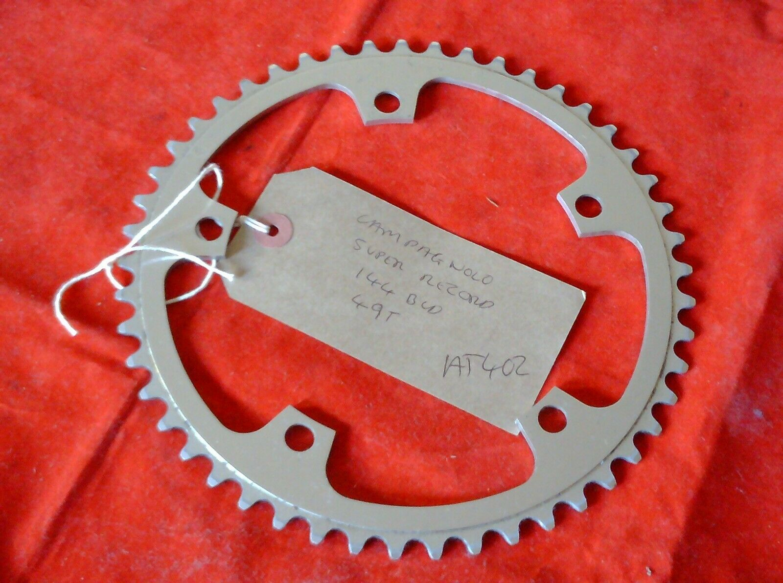 49 TOOTH 144BCD CAMPAGNOLO SUPER RECORD CHAINRING