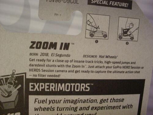 Zoom in #242 Us  Works Gopro Hero Session 5 ~ Experimotors  2018 Hot Wheels