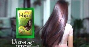 100 Pure Nupur Herbal Henna For Hair Dye Hair Care Free