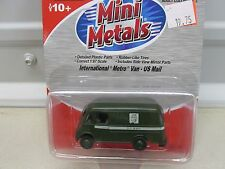 MINI METALS ~INTERNATIONAL METRO VAN - US MAIL~ LOT B ~HO /1;87 SCALE
