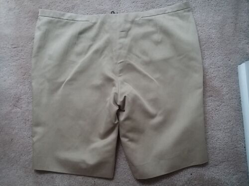 Made Costume Sz In Italy vestito 00 Pantaloncini beige 46 425 con Nwt National sabbia Pqzr7PB