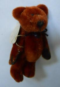 Boyds Bears Plush T.FRASIER WUZZIE Fabric Teddy Bear Jointed 59510008 687847777601 | eBay