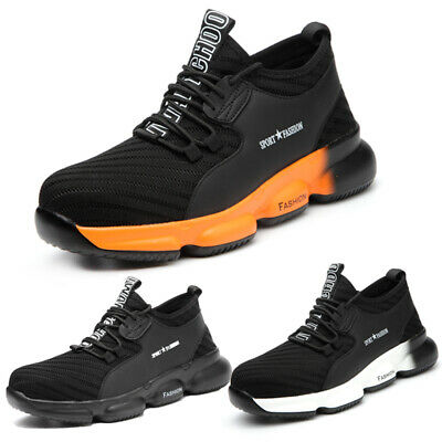 Men's Safety Shoes Work Trainers Steel