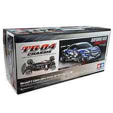 Tamiya 1:10 TB04 RAYBRIG NSX CONCEPT GT Honda 4WD EP RC Touring Car Kit #58598