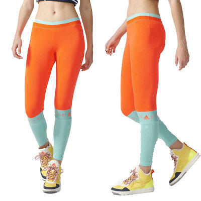 Adidas Stellasport Long Gym Leggings New Stella Mccartney Tight Mesh Yoga Pants Einen Einzigartigen Nationalen Stil Haben