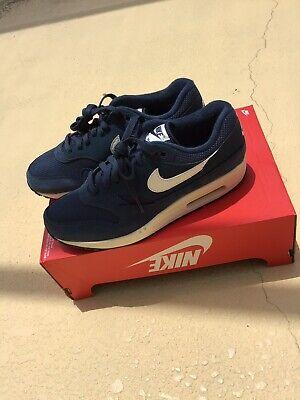 New Nike Men's Air Max 1 Shoes (AH8145 401) Size 9 Mens Armory NavySail Black 886061920897 | eBay