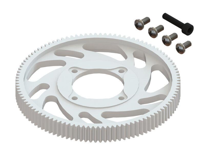 CNC Delrin Main Gear w// Adjustable Hub set NEW Microheli BLADE 180 CFX Black