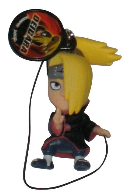 Kakashi Hatake Naruto Shippuden Bura Bura Cell Phone Strap Figure Keychain