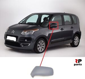 FOR CITROEN C3 PICASSO 08-19 WING MIRROR COVER CAP PRIMED LEFT N/S