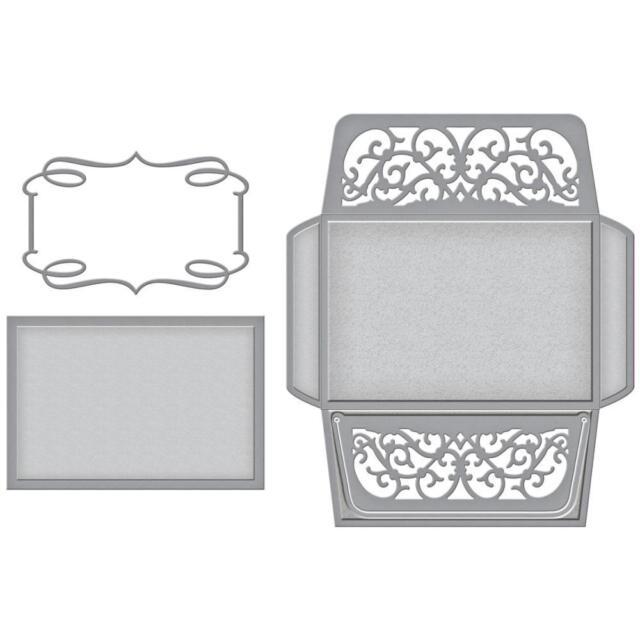 Spellbinders Designer Series Die ~ CLASSIC ELEGANCE LABEL ~ S6-082 ~Becca Feeken