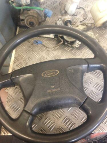 2004 FORD RANGER 4DOOR DOUBLE CAB 2.5 STEERING WHEEL AND DRIVER FRONT AIR DASH