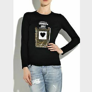 Markus Lupfer sequined perfume Knit Sweater