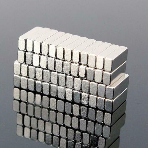 10pcs//bag N35 Square Rare Earth Permanent Magnet Strong Magnetic Magnets B1K7