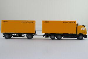 Wiking-459-MB-2544-SK-cambio-maleta-camion-1994-034-deutsche-post-ag-034-1-87-h0