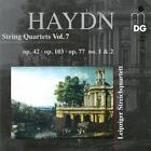 Vol. 7 Streichquartette op. 42,103,op.77 1+2 von Leipziger Streichquartett (2014)