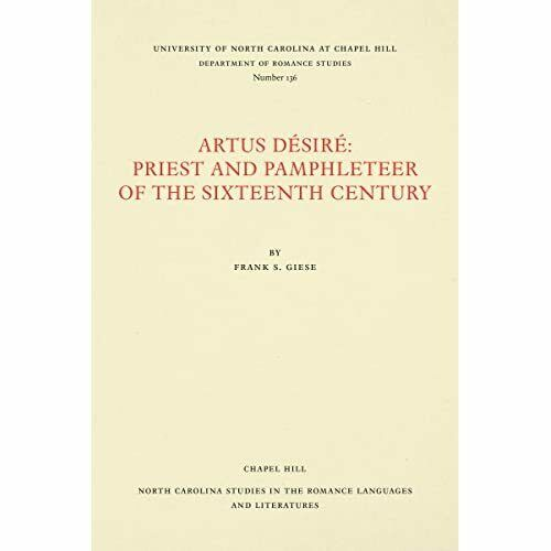 Artus DA (c)sirA (c): Priest and Pamphleteer of the Six - Paperback NEW Giese, F