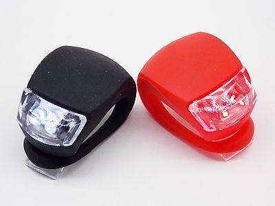 Knog Frog Strobe Front White /& Rear Red LED Bike Light