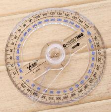 Buy Plastic 360 Degree Protractor Ruler Angular Viewer Swing Arm