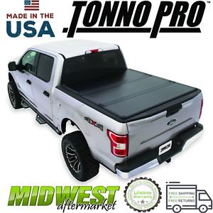 Tonno Pro Ultrafold Hard Tri Fold Tonneau Cover Fits 2019 Ram 1500 6 4 Bed Ebay