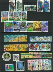 MNZ71-New-Zealand-1994-Stamp-Sets-CTO-Used