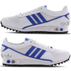 adidas la trainer blu argento