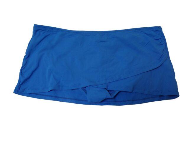 1fcd82d8810 Anne Cole Tulip Swim Skirt Indigo L for sale online | eBay